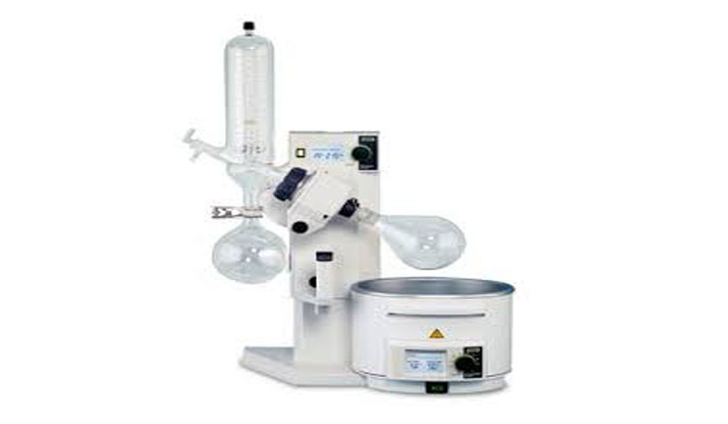 rotary evaporator vertical condensor